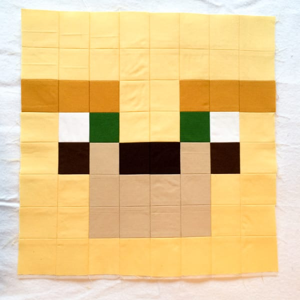 Minecraft Quilt Block Ocelot