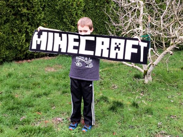 Minecraft Title Block
