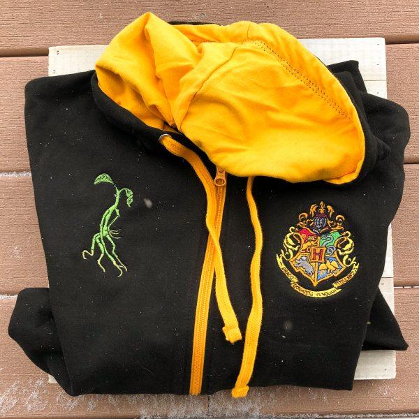 Hufflepuff Jacket Front