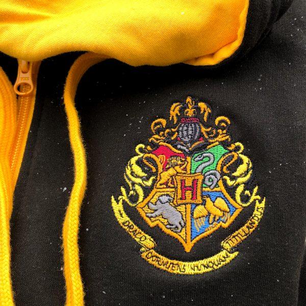 Hufflepuff Jacket Hogwarts Crest