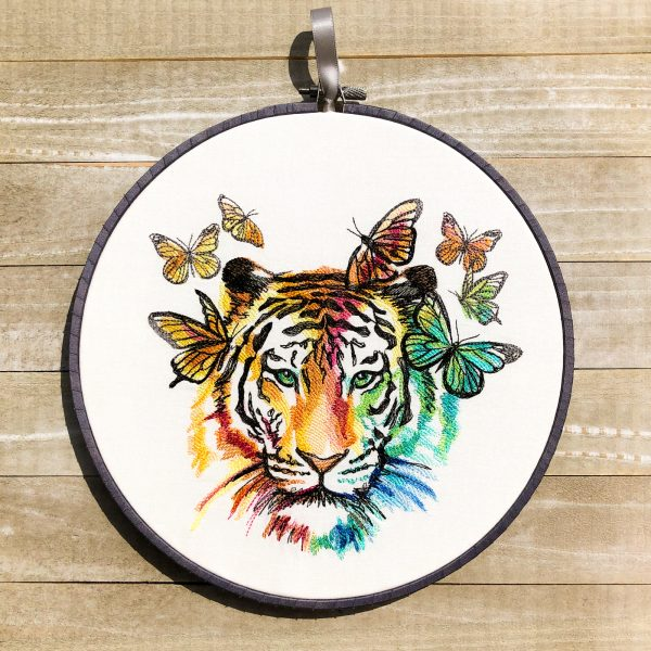 Butterfly Dreams Tiger