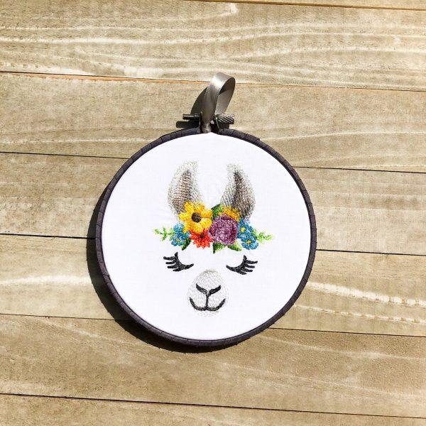Enchanting Llama Face