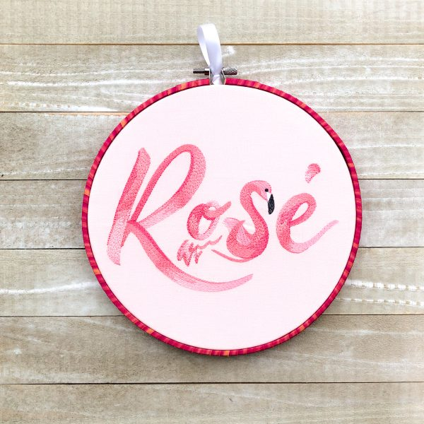 Rosé Flamingo