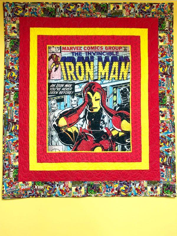 Iron Man Panel Quilt