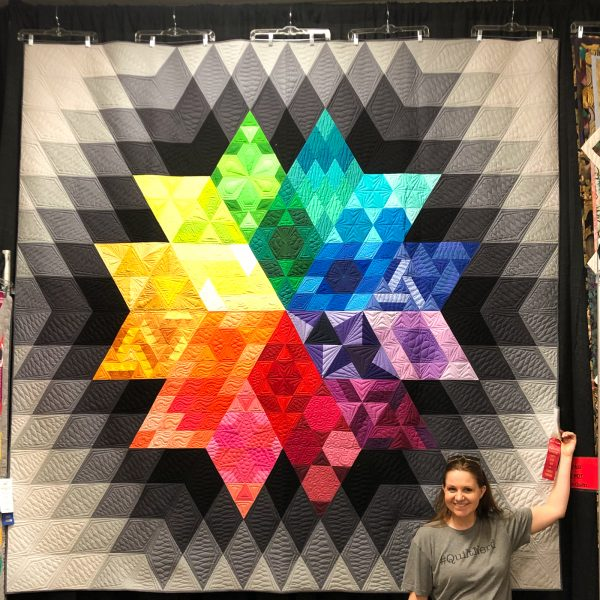Gravity Quilt On Display