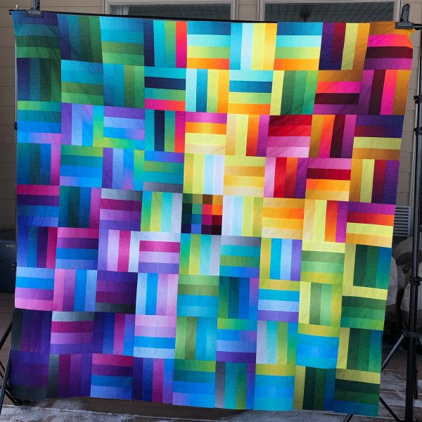 Ombréiled Quilt Version 2