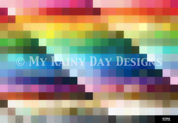 Kona Color Card Version 2: Color Order