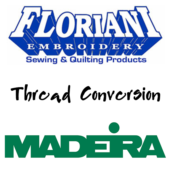 Floriani to Madeira Thread Conversion