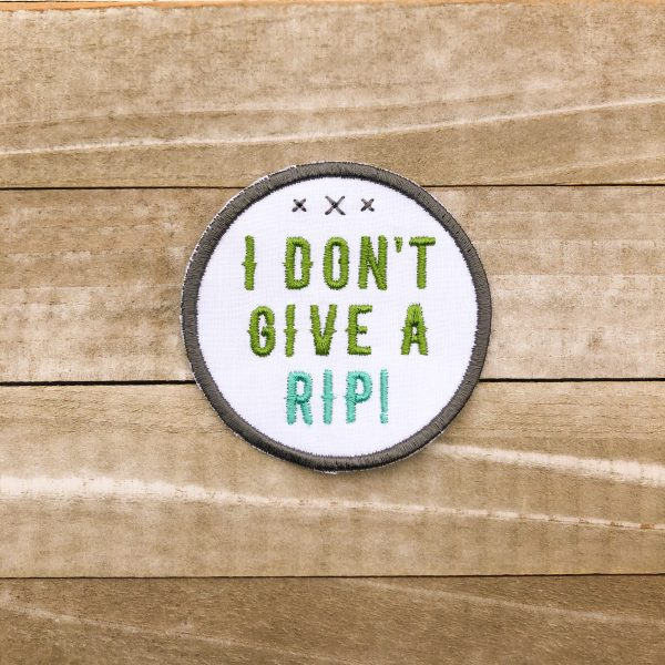 I Don't Give A Rip Patch