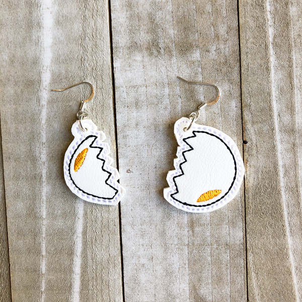 Cracked Eggs Earrings
