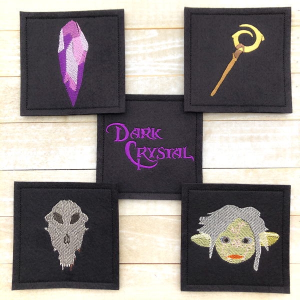Dark Crystal Coasters Set 2