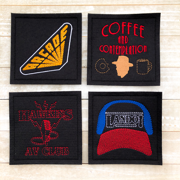Stranger Things Coasters